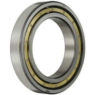 FAG 6222MA C4 Radial Bearing, Single Row, ABEC 1 Precision, Open, Brass Cage, C4 Clearance, Metric, 110mm ID, 200mm OD, 38mm Width, 26500lbf Static Load Capacity, 32500lbf Dynamic Load Capacity: Deep Groove Ball Bearings: Industrial & Scientific