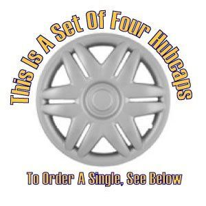 Set of Four Replica 2000   2002 15 inch Toyota Camry Hubcaps   Wheel Covers: Automotive