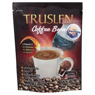Truslen Coffee :Coffee Bern with L Carnitine Instant Powder 13g x 7 Sachets Best Seller of Thailand: Everything Else