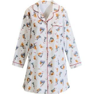 The Vermont Country Store   Disney Lady and the Tramp Flannel Nightshirt   Nightgowns