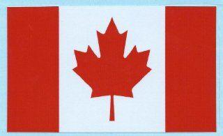 5 X 3 Canadian Canada Flag Vinyl Bumper Sticker Decal