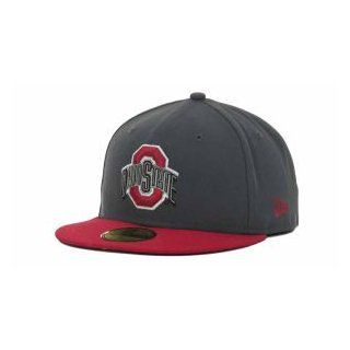 Ohio State Buckeyes New Era NCAA 2 Tone Graphite and Team Color 59FIFTY Cap  Sports Fan Baseball Caps  Sports & Outdoors