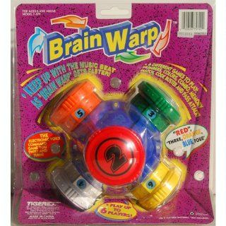 Brain Warp by Tiger Electronics 1996 Toys & Games