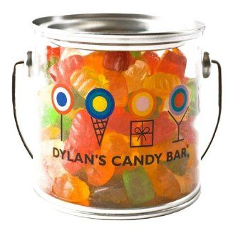 Dylan's Candy Bar Candy Filled Paint Can   Gummy Bears  Grocery & Gourmet Food