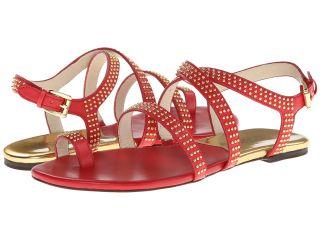 MICHAEL Michael Kors Arianna Toe Thong Womens Shoes (Red)
