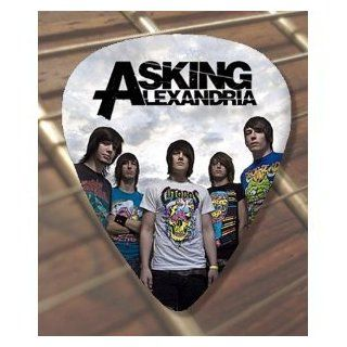 Printed Picks Company Asking Alexandria Premium Guitar Pick X 5 Musical Instruments