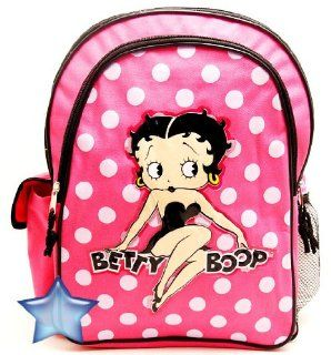 "Betty Boop Christmas Combo   Betty Boop Large Backpack and Betty Boop Wallet Set, Backpack Size Approximately 16"" Toys & Games"