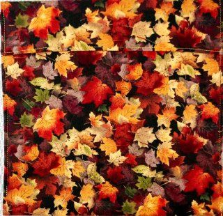 "Premium Microwave Potato Bag   Autumn Maple Leaves   Approximately 10"" x 10""   100% Pure Cotton Material, Lined and Insulated   Handmade in the USA   Also Great for Corn on the Cob, Sweet Potatoes, Carrots, Broccoli, Asparagus or Warm Tortillas,"