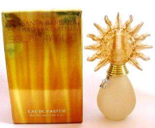 SOLAR MAGIC by Santa Barbara. For Women. Eau De Parfum 8ml   0.25 fl.oz. Splash. MINI(note* Minis Approximately 1 2 Inches, NOT Full Size). Travel Size. New in Box  Beauty