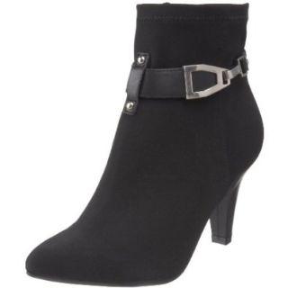 Etienne Aigner Women's Harmony Ankle Boot,Black,11 M US Shoes