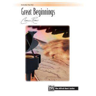 Great Beginnings (Sheet) (Signature Series) Alfred Publishing Staff 9780739081556 Books