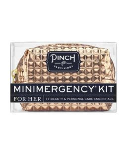 Pinch Provisions Candy Striper Minimergency Kit For Her, White