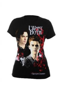 The Vampire Diaries I Want Both Girls T Shirt Size  Small Clothing