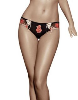 Roza Natali Brief   Beautiful Floral Embroidered Brief