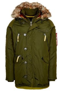 Alpha Industries   Parka   oliv