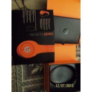 Beats Studio Over Ear Headphone (Orange) (Discontinued by Manufacturer): Electronics
