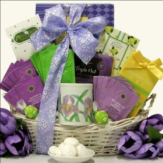 GreatArrivals Gift Baskets It's Tea Time Mother's Day Tea  Gourmet Tea Gifts  Grocery & Gourmet Food