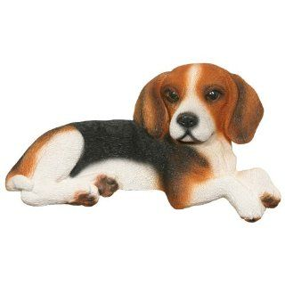 Beagle Tri Color Collectible Dog Figurine Door and Window Topper decor gift