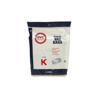 Type K Hoover Vacuum Cleaner Replacement Bag (3 Pack) Household Vacuum Filters Upright Industrial & Scientific