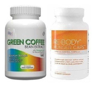 Green Coffee Bean Extract With GCA   800mg Per Serving, 120 Vegetarian Capsules, No Fillers, 50% Chlorogenic Acids, (Contains GCA), 2 60ct Bottles Health & Personal Care
