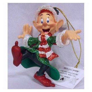 Disney Holiday Snow White Dopey Glitter Ornament   Disney Theme Parks Exclusive & Limited Availability  Decorative Hanging Ornaments