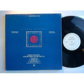 George Frederic Handel Eight Sonatas For Diverse Instruments (Audiophile Digital 2xLP Box Set) LP   Smithsonian   N 029A The Smithsonian Chamber Players James Weaver Music