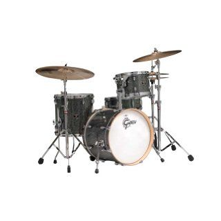 Gretsch Catalina Club 4 Piece Drum Set   Galaxy Black Sparkle Musical Instruments