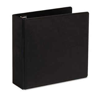 """Cardinal Brands, Inc Products   Slant D Ring Binder, Heavy Duty, 3"""" Capacity, Black   Sold as 1 EA   SuperLife Slant D Ring Binder is made from heavy duty, injection molded polypropylene with dual fold living hinge cover. Will not crack or break, even"""