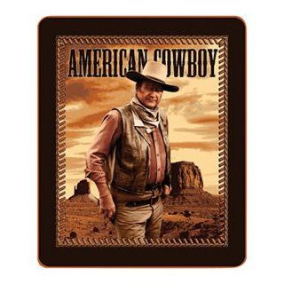 John Wayne American Cowboy Fleece Throw