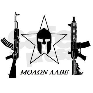 mOLON LABE black star 2.0 USA Sticker by Admin_CP3598331