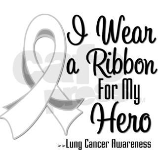 Hero   Lung Cancer Round Sticker by hopeanddreams