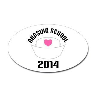 Nursing School 2014 Decal by classof_tshirts