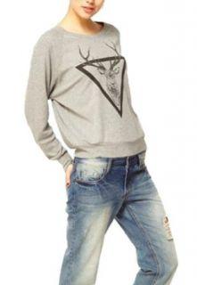 W&Hstore Deer Elk Fawn Stag Graffiti Mens Or Womens Jumper Sweater Sweatshirt Clothing
