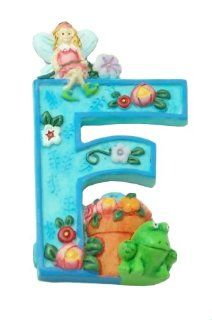 "MARY ENGELBREIT Decorative Alphabet Letter Super Magnet ~ ""F"" ~ Frog ~ Flower ~ Fairy: Refrigerator Magnets: Kitchen & Dining"