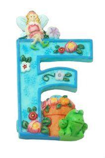 "MARY ENGELBREIT Decorative Alphabet Letter Super Magnet ~ ""F"" ~ Frog ~ Flower ~ Fairy: Refrigerator Magnets: Kitchen & Dining"