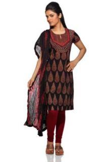 Trishaa Women's Indian Salwar Kameez Set Maroon X Small at  Women�s Clothing store