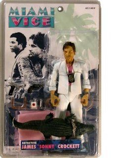 Miami Vice Sonny Rare White Suit with Alligator Toys & Games