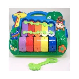 Rainbow Piano Xylophone With Music And Lights [Toy] Toys & Games
