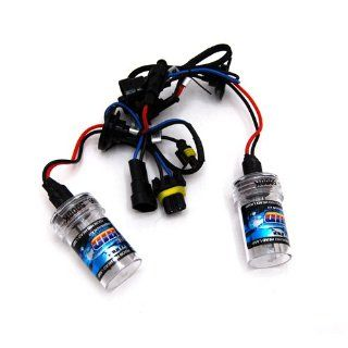 DEDC New 1 pair 35w 9006 (HB4) 3000K Single Beam HID Xenon Lights Replacement Bulbs HID lights Automotive