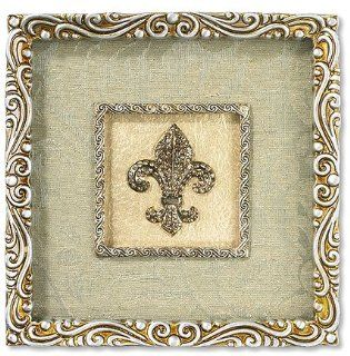 Fleur De Lis Wall Plaque Catholic Christian Religious Gift Unique Home Decor