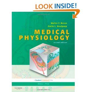 Medical Physiology: With STUDENT CONSULT Online Access, 2e (MEDICAL PHYSIOLOGY (BORON)): 9781416031154: Medicine & Health Science Books @