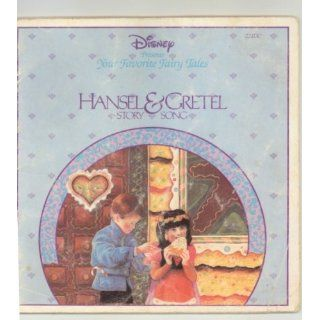 Hansel and Gretel Story Song (Disney Presents Your Favorite Fairy Tales) Books