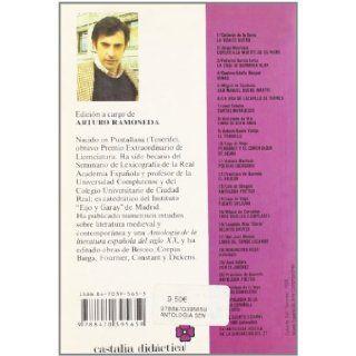 Antologia poetica de la Generacion del 27 (Castalia Didactica) (Castalia didactica) (Spanish Edition) Arturo, ed Ramoneda 9788470395659 Books