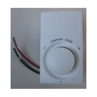 Qmark MS26 Thermostat & Controls   Electronic Digital Line Voltage Thermostat White   Heaters