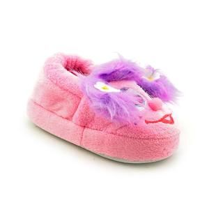 Sesame Street by Stride Rite Girl's 'Abby Cadabby Slippers' Fabric Casual Shoes Children's Slippers