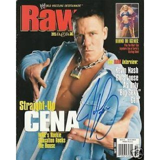WWE RAW MAGAZINE    APRIL 2003   JOHN CENA COVER: wwe: Books
