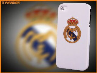 iPhone 4 & 4S HARD CASE Liga Real Madrid + FREE Screen Protector (D202 0002): Cell Phones & Accessories