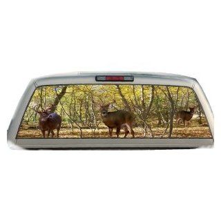 Buck Woods  22 Inches by 65 Inches  Rear Window Graphics: Automotive