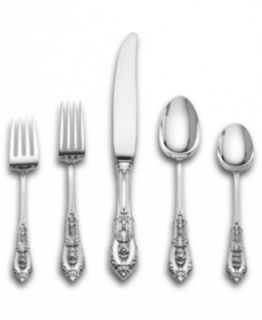 Wallace Rose Point Sterling Silver Flatware Collection   Flatware & Silverware   Dining & Entertaining