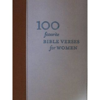 100 Favorite Bible Verses For Women Hallmark Gift Series Books